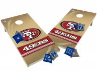 San Francisco 49ers XL Shields Cornhole Game