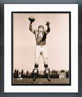 San Francisco 49ers Y.A. Tittle Posed Framed Photo
