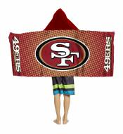 San Francisco 49ers Youth Hooded Towel