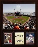 "San Francisco Giants 12"" x 15"" AT&T Park Stadium Plaque"