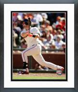 San Francisco Giants Andrew Susac 2014 Action Framed Photo