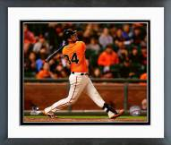 San Francisco Giants Andrew Susac 2015 Action Framed Photo