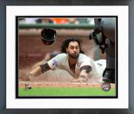 San Francisco Giants Angel Pagan 2015 Action Framed Photo