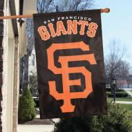 San Francisco Giants Appliqué 2-Sided Banner Flag