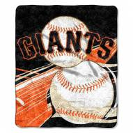 San Francisco Giants Big Stick Sherpa Blanket