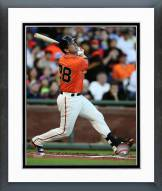 San Francisco Giants Buster Posey 2015 Action Framed Photo