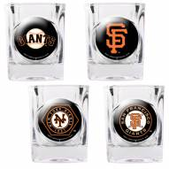 San Francisco Giants Collector's Shot Glass Set