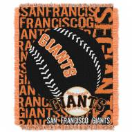 San Francisco Giants Double Play Jacquard Throw Blanket