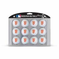 San Francisco Giants Dozen Golf Balls