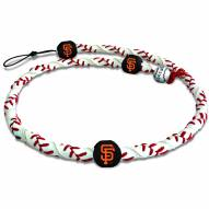 San Francisco Giants Frozen Rope Baseball Necklace