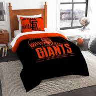 San Francisco Giants Grand Slam Twin Comforter Set