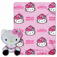San Francisco Giants Hello Kitty Blanket & Pillow