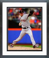 San Francisco Giants Jake Peavy 2014 Action Framed Photo