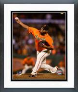 San Francisco Giants Jean Machi 2014 Action Framed Photo