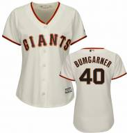 San Francisco Giants Madison Bumgarner Women's Replica Home Baseball Jersey