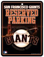 San Francisco Giants Metal Parking Sign