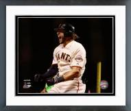 San Francisco Giants Michael Morse 2014 NL Championship Series Framed Photo