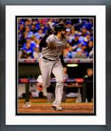 San Francisco Giants Michael Morse 2014 World Series Action Framed Photo