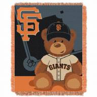 San Francisco Giants MLB Baby Blanket