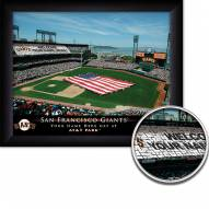 San Francisco Giants Personalized Framed Stadium Print