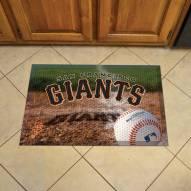 San Francisco Giants Scraper Door Mat