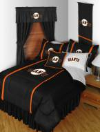 San Francisco Giants Sidelines Bed Comforter