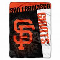 San Francisco Giants Strike Raschel Throw Blanket