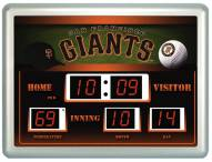 San Francisco Giants Thermometer Scoreboard Clock