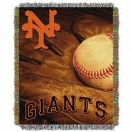San Francisco Giants Vintage Throw Blanket