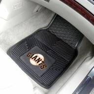 San Francisco Giants Vinyl 2-Piece Car Floor Mats