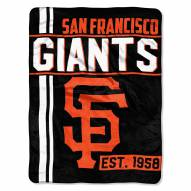 San Francisco Giants Walk Off Throw Blanket