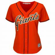San Francisco Giants Women's Replica Orange Alternate Baseball Jersey