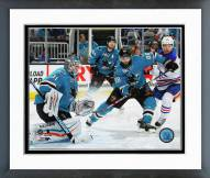 San Jose Sharks Antti Niemi 2014-15 Action Framed Photo