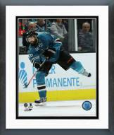 San Jose Sharks Brent Burns 2014-15 Action Framed Photo