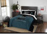 San Jose Sharks Draft Full/Queen Comforter Set