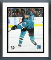 San Jose Sharks James Sheppard 2014-15 Action Framed Photo