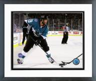 San Jose Sharks Joe Thornton 2015 NHL Stadium Series Framed Photo