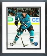 San Jose Sharks Logan Couture 2014-15 Action Framed Photo