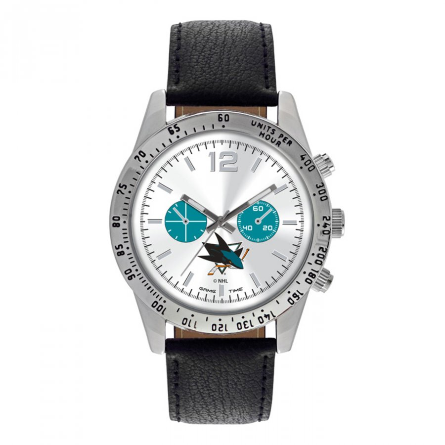 San Jose Sharks Men's Letterman Watch