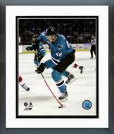 San Jose Sharks Tomas Hertl 2014-15 Action Framed Photo