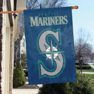 Seattle Mariners Appliqué 2-Sided Banner Flag
