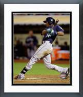 Seattle Mariners Austin Jackson 2014 Action Framed Photo