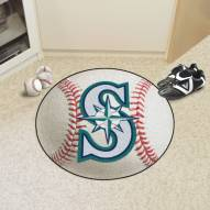 Seattle Mariners Baseball Rug