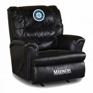 Seattle Mariners Big Daddy Leather Recliner
