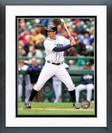 Seattle Mariners Brad Miller 2014 Action Framed Photo