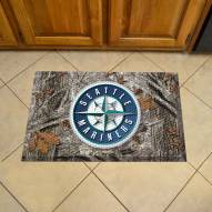 Seattle Mariners Camo Scraper Door Mat