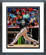 Seattle Mariners Corey Hart 2014 Action Framed Photo