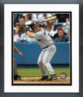 Seattle Mariners Edgar Martinez Action Framed Photo
