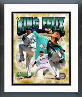 Seattle Mariners Felix Hernandez 2014 Portrait Plus Framed Photo