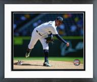 Seattle Mariners Felix Hernandez 2015 Action Framed Photo
